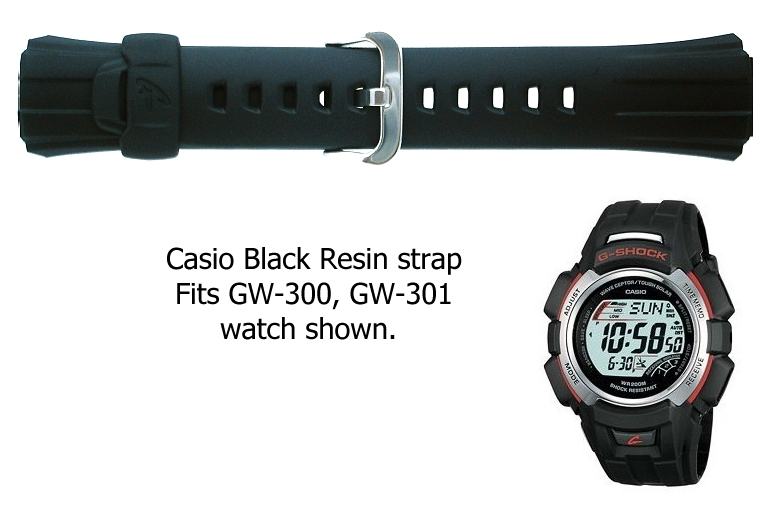 how to change watch strap casio
